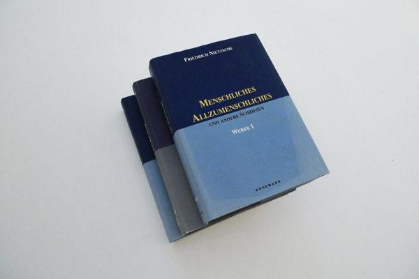 Friedrich Nietzsche, Werke in 3 Bänden