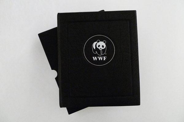 WWF Naturschutz-Briefmarkensammlung im Schuber