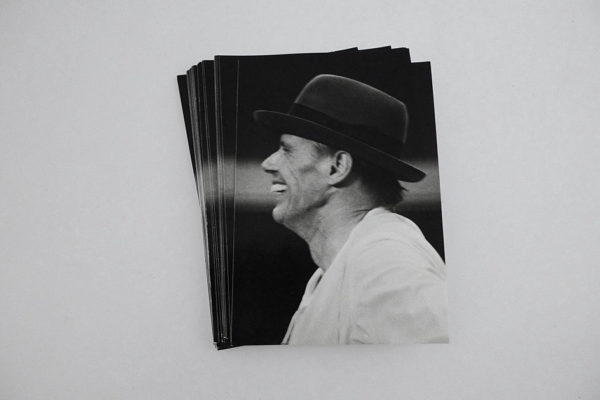 Postcard: Joseph Beuys in Rorschach