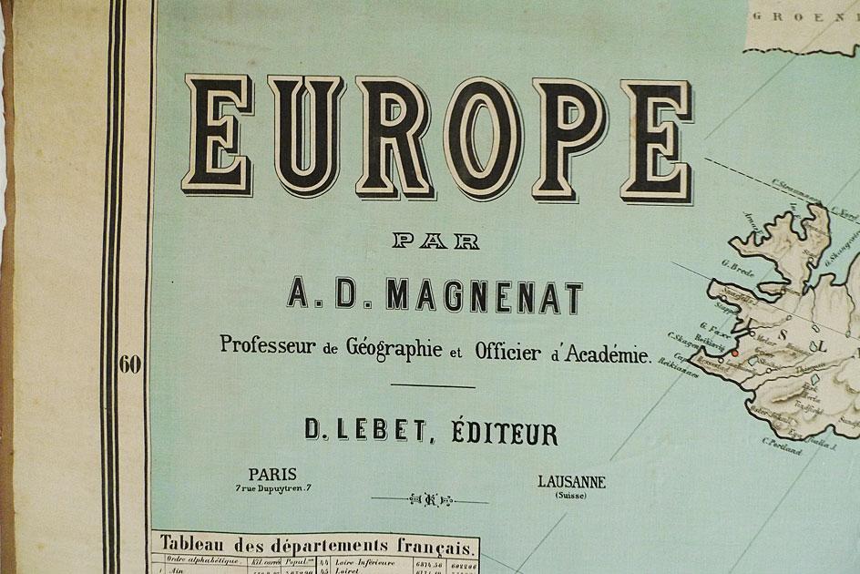 EUROPE par A. D. Magnenat