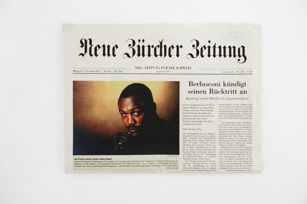 NZZ Joe Frazier