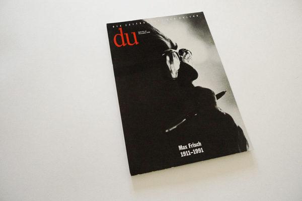 DU; Max Frisch