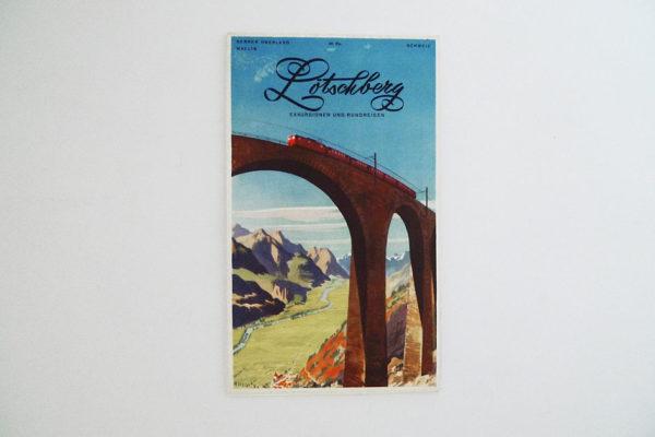 Lötschberg. Exkursionen und Rundreisen