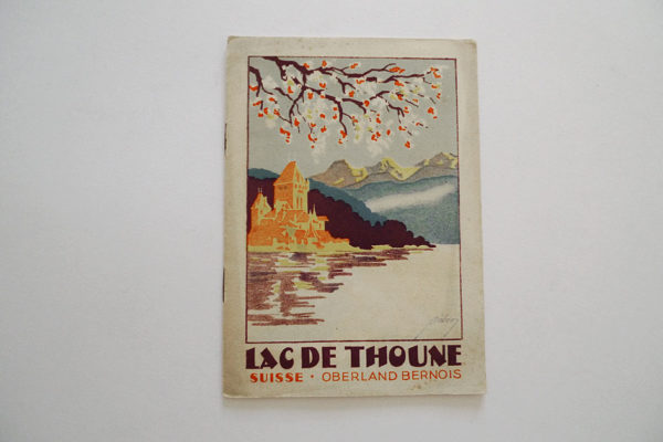 Lac de Thoune. Suisse. Oberland Bernois