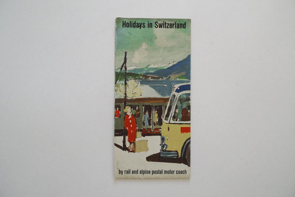 Holidays in Switzerland by rail and alpine postal motor coach
