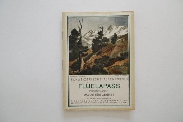 Schweizerische Alpenposten: Flüelapass