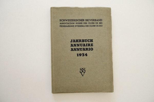 Schweizerischer Skiverband. Jahrbuch 1934