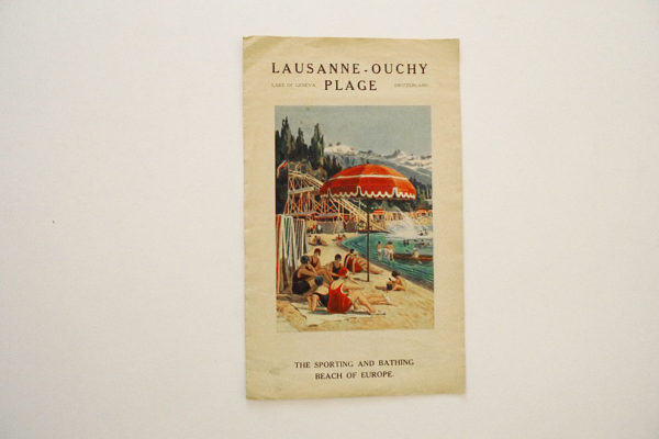 Lausanne - Ouchy Plage