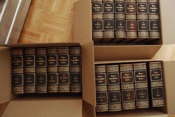 Meyers Konversations-Lexikon; 17 Bände (A-Z komplett)