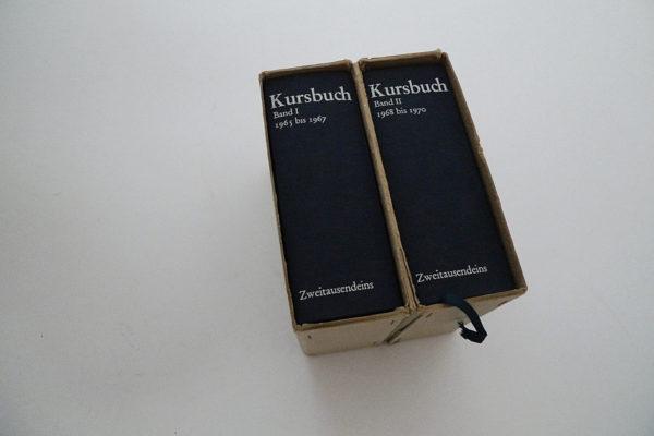 Kursbuch; 2 Bände im Schuber