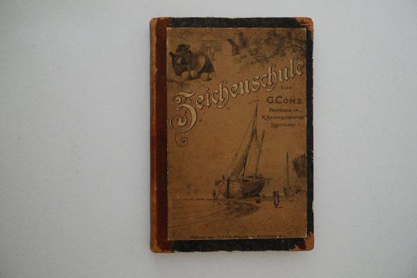Zeichenschule; Anleitung zum Selbstunterricht, mit einer Sammlung von Vorlagen für Anfänger und 80 Illustrationen