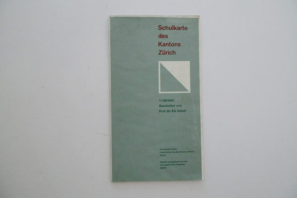 Schulkarte des Kantons Zürich