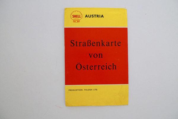 Strassenkarte von Österreich