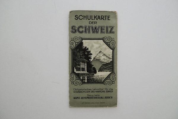 Schulkarte der Schweiz
