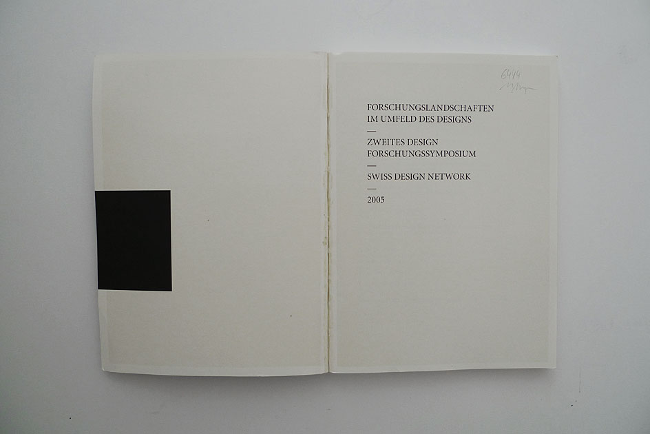 Forschungslandschaften im Umfeld des Designs