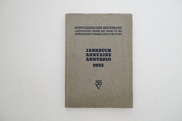 Schweizerischer Skiverband. Jahrbuch 1935