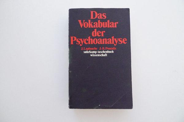 Das Vokabular der Psychoanalyse