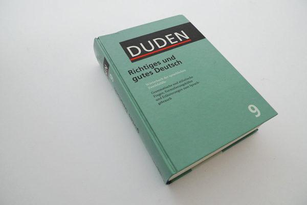 Duden, Richtiges und gutes Deutsch