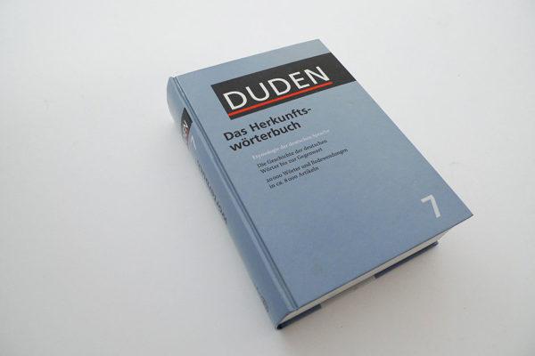 Duden, Herkunftswörterbuch