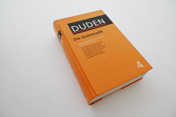 Duden, Grammatik der deutschen Gegenwartssprache