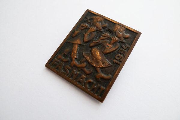 Medaille Basler Fasnacht 1934