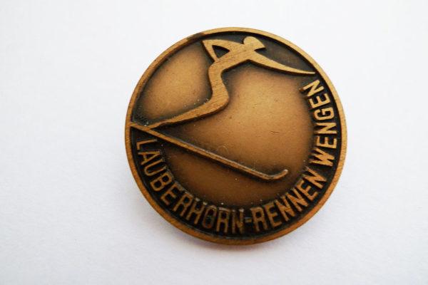 Medaille Lauberhorn-Rennen Wengen