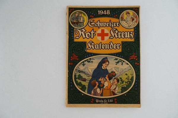 Schweizer Rot-Kreuz Kalender 1948