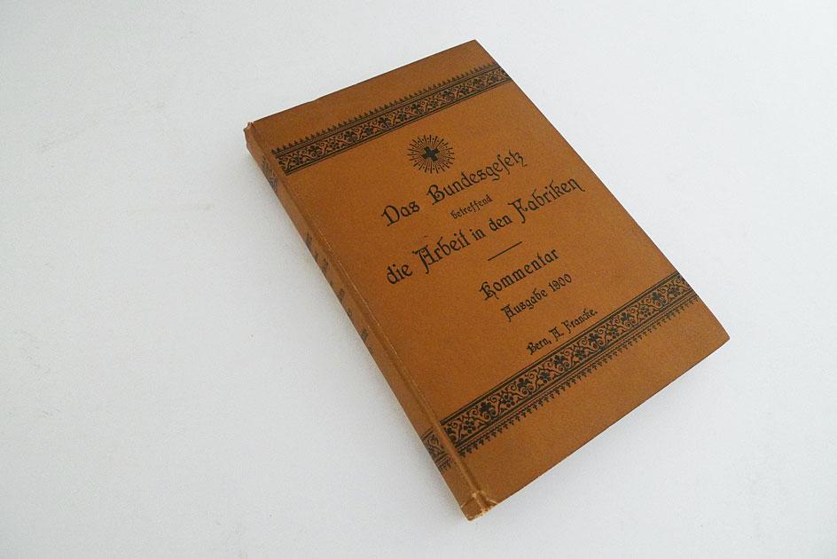 Bundesgesetz Arbeit in den Fabriken 1877