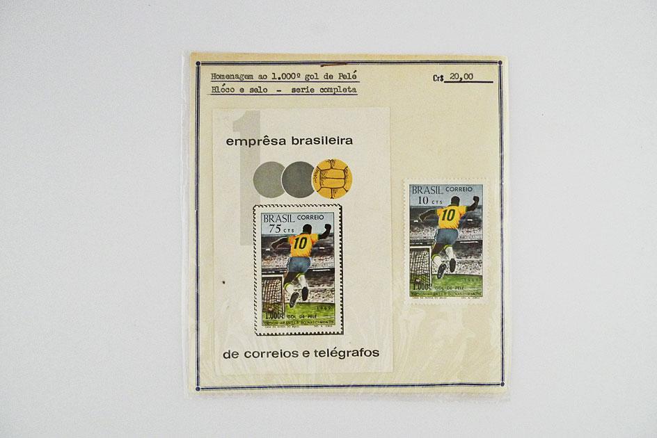 Hommage 1000. Fußballtor von Pelé
