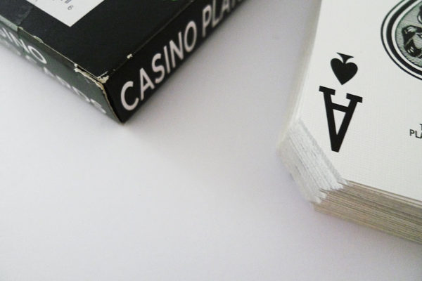 Casino played Cards