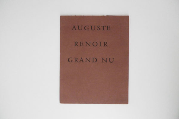Auguste Renoir - Grand Nu - Jedlicka, Gotthard