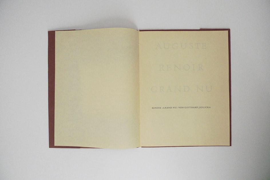 Auguste Renoir – Grand Nu – Jedlicka, Gotthard