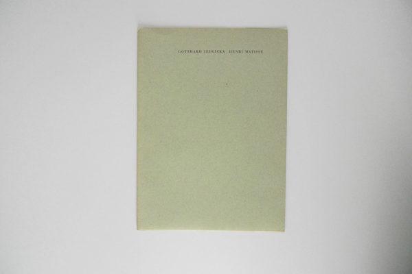 Gotthard Jedlicka - Henri Matisse