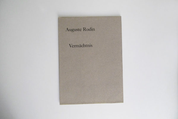 Auguste Rodin - Vermächtnis