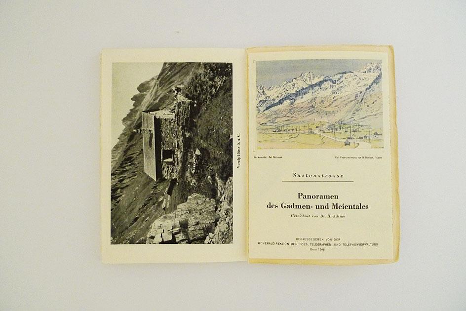 Schweizerische Alpenposten: Sustenstrasse
