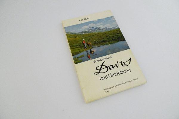 Wanderkarte Davos und Umgebung