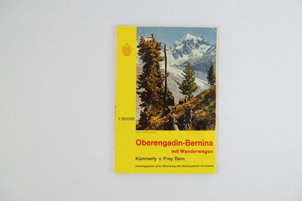 Oberengadin-Bernina mit Wanderwegen