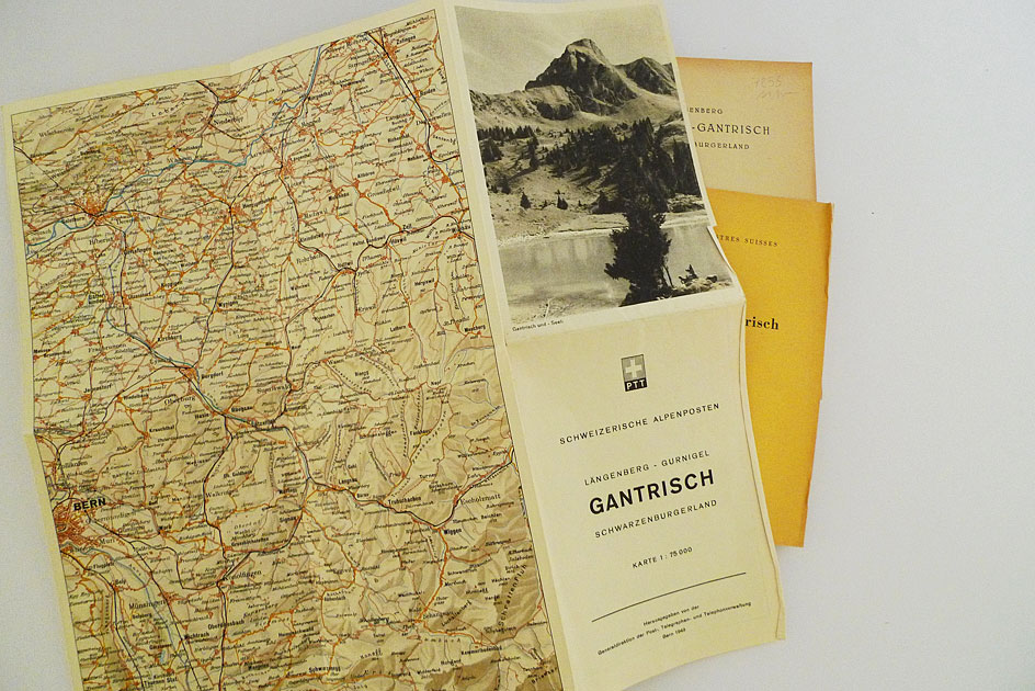 Schweizerische Alpenposten – Längenberg. Gurnigel-Gantrisch. Schwarzenburgerland