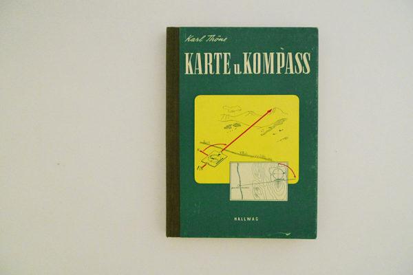 Hallwag Taschenbuch - Karte und Kompass