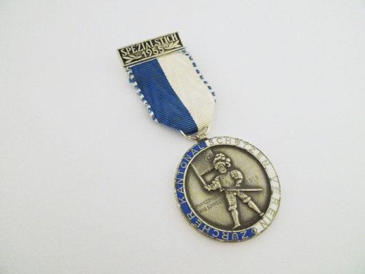 Medaille Spezialstich 1955