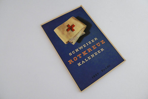 Schweizer Rot-Kreuz Kalender 1957
