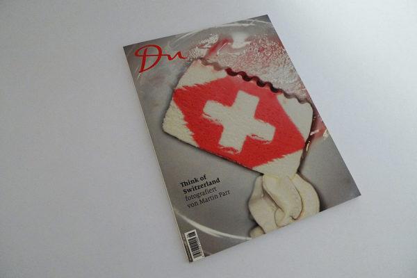 du; Think of Switzerland fotografiert von Martin Parr