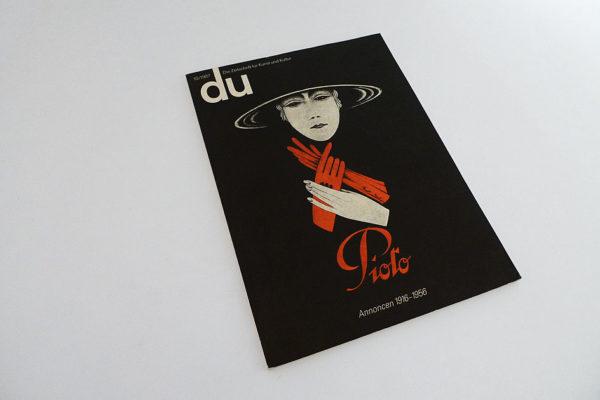 du; Annoncen 1916 - 1956