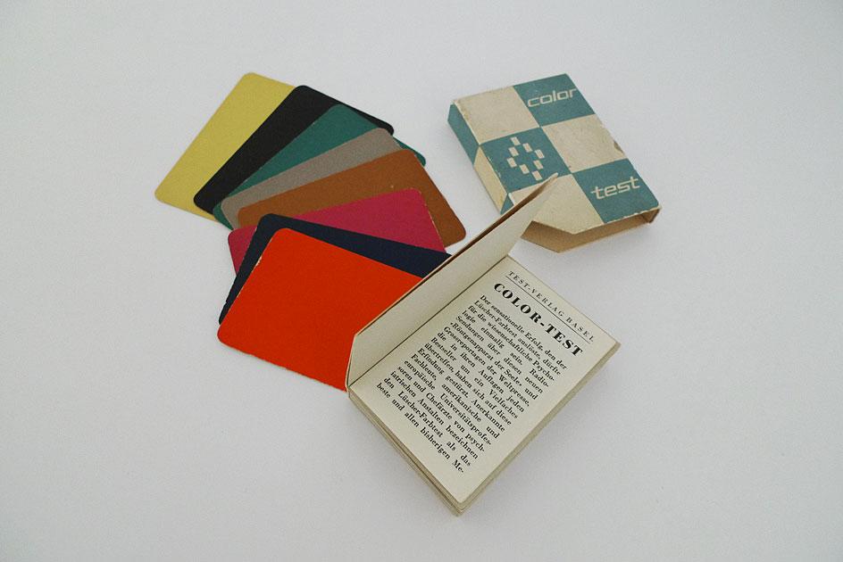 Color Test; Prof. Dr. Max Lüscher