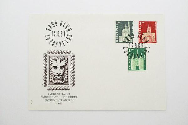 Ersttagsbrief (FDC) 12.9.1968