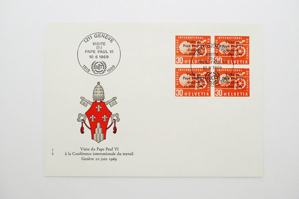 Ersttagsbrief (FDC) 10.6.1969