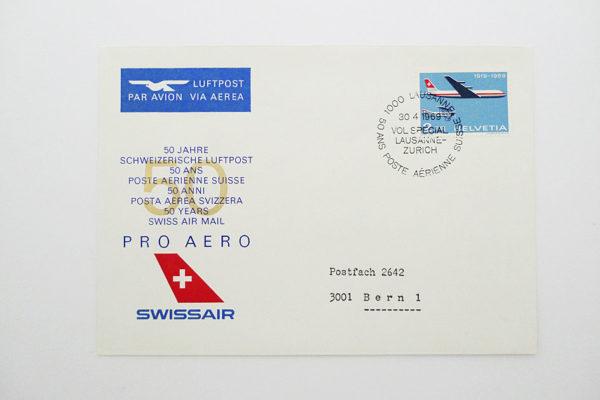 Ersttagsbrief (FDC) 30.4.1969