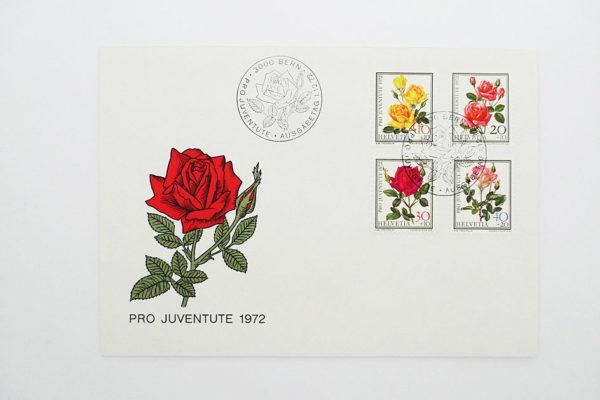 Ersttagsbrief (FDC) 1.12.1972