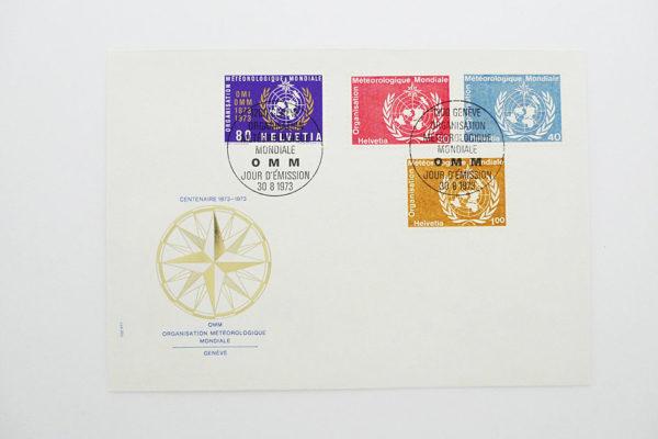 Ersttagsbrief (FDC) 30.8.1973