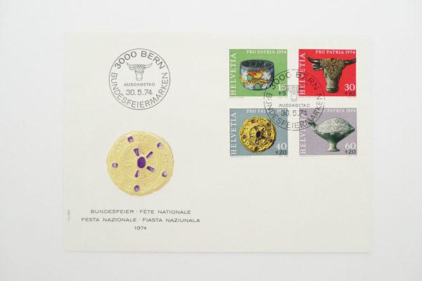 Ersttagsbrief (FDC) 30.5.1974